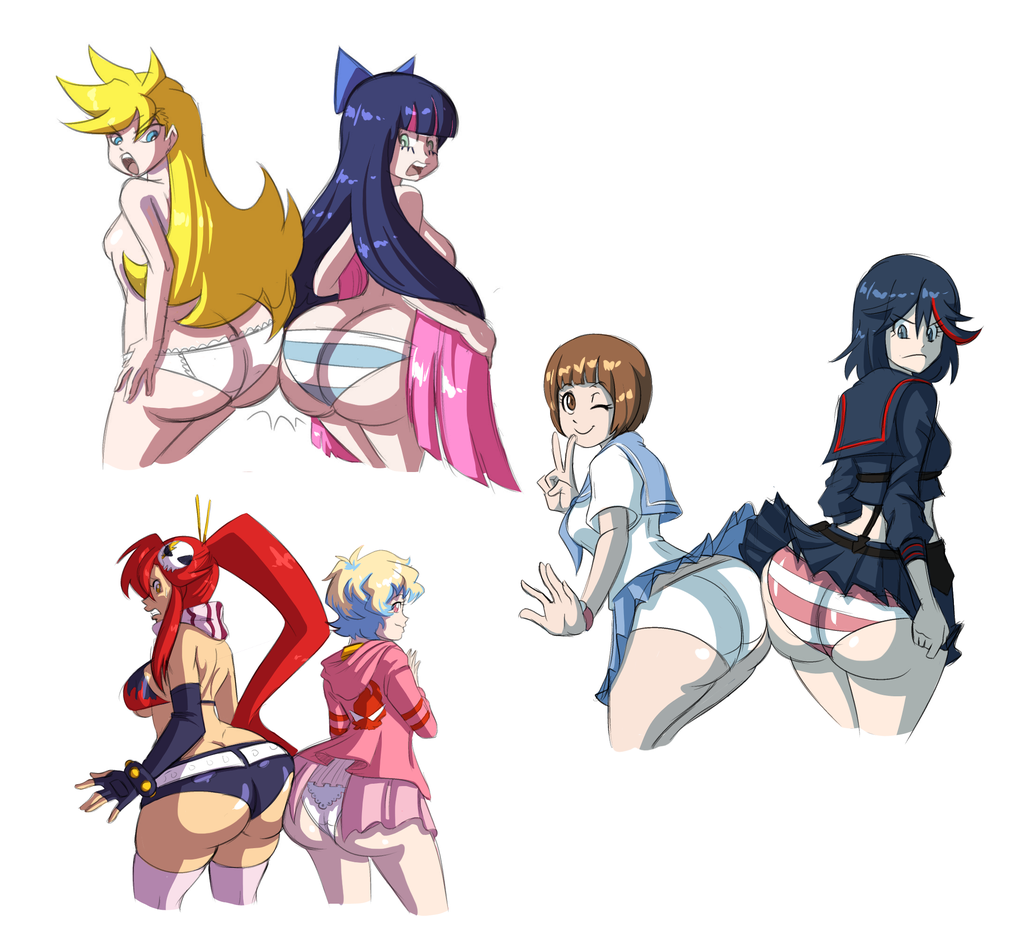 axel panty stocking rosered and Coming out on top