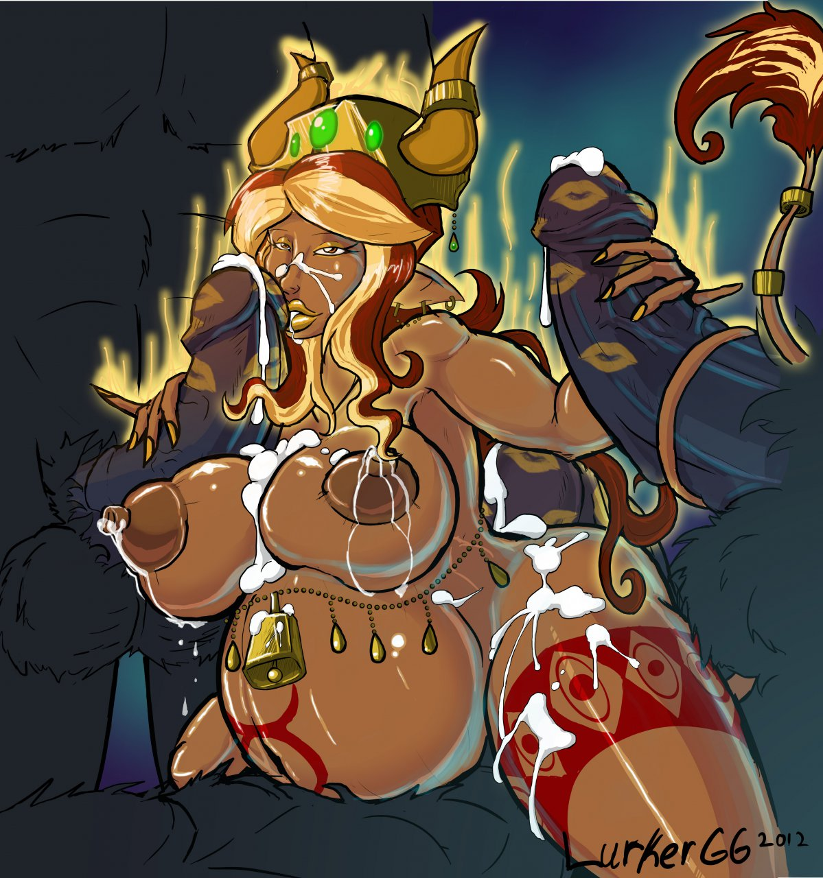 of corruption goo girl champions Grimoire of fantasy and ash