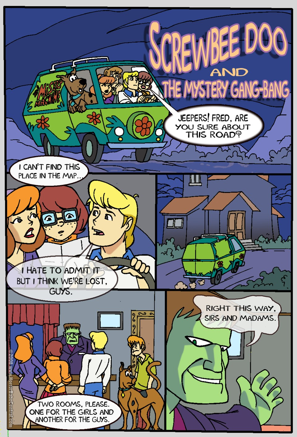scooby doo from nude velma The walking dead game hentai