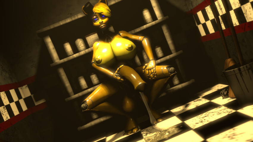 master golden freddy puppet vs Looks like these black creatures really mean business