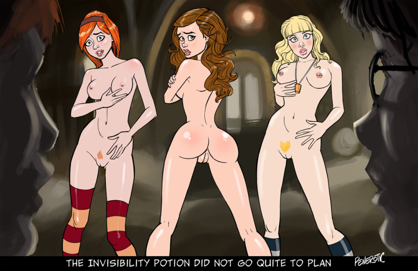and luna granger lovegood hermione Project x love potion disaster all animations