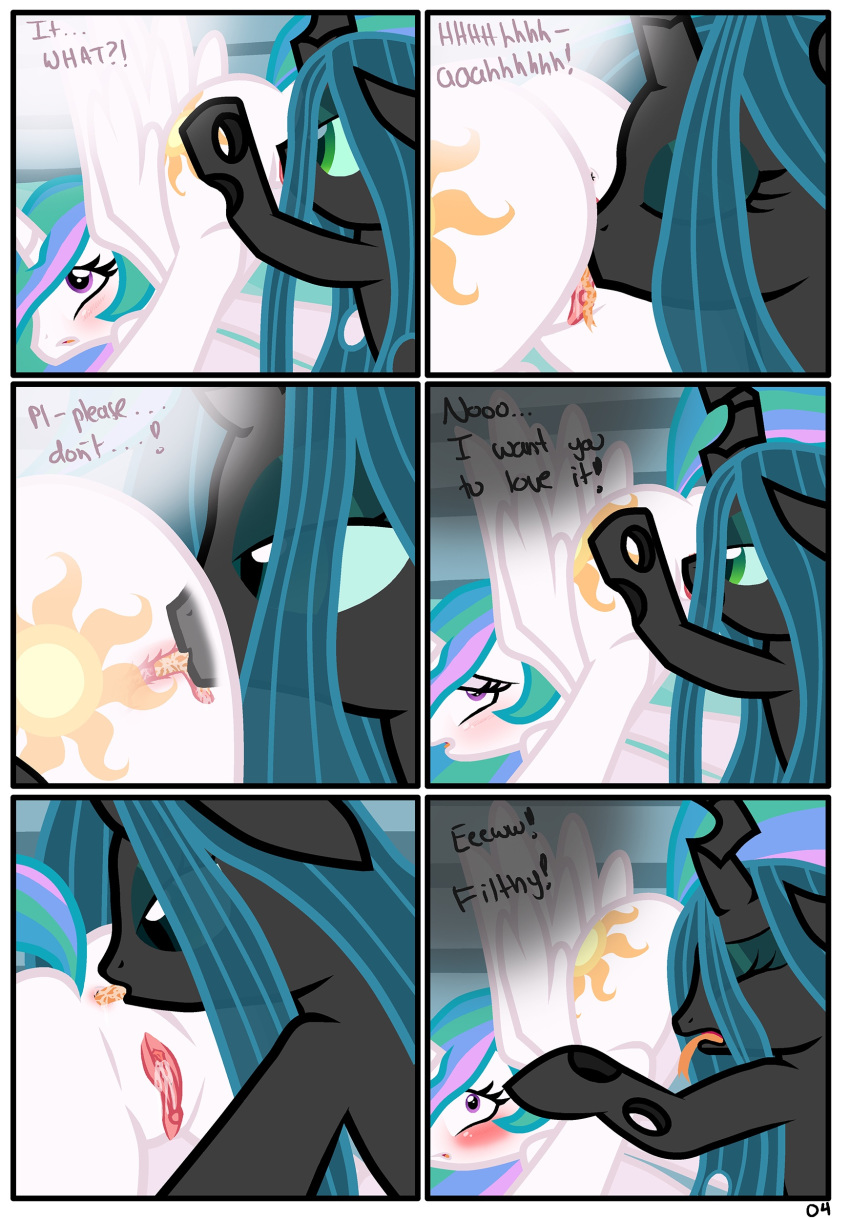 pony chrysalis little from queen my Foster's home for imaginary friends duchess