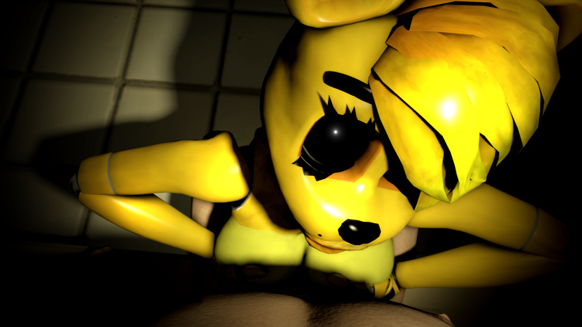nights chica at freddy's five naked Spooky's house of jumpscares puppet