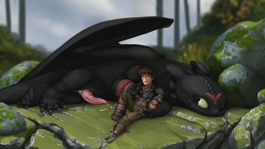 night becomes fanfiction hiccup fury a This is pequod arriving shortly at lz